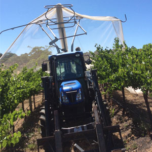 Bird netting vineyards orchards and olive groves | Pridham